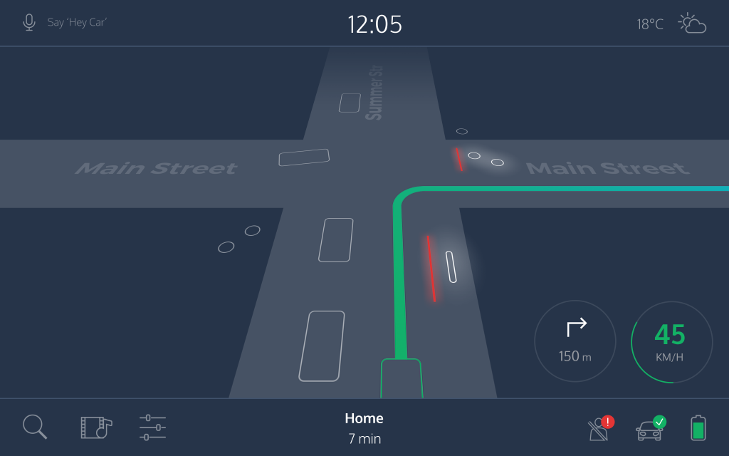 UX Portfolio Tips - Lab project of self-driving cars