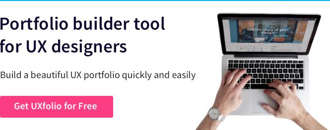 UX Folio - UX Portfolio Builder Tool