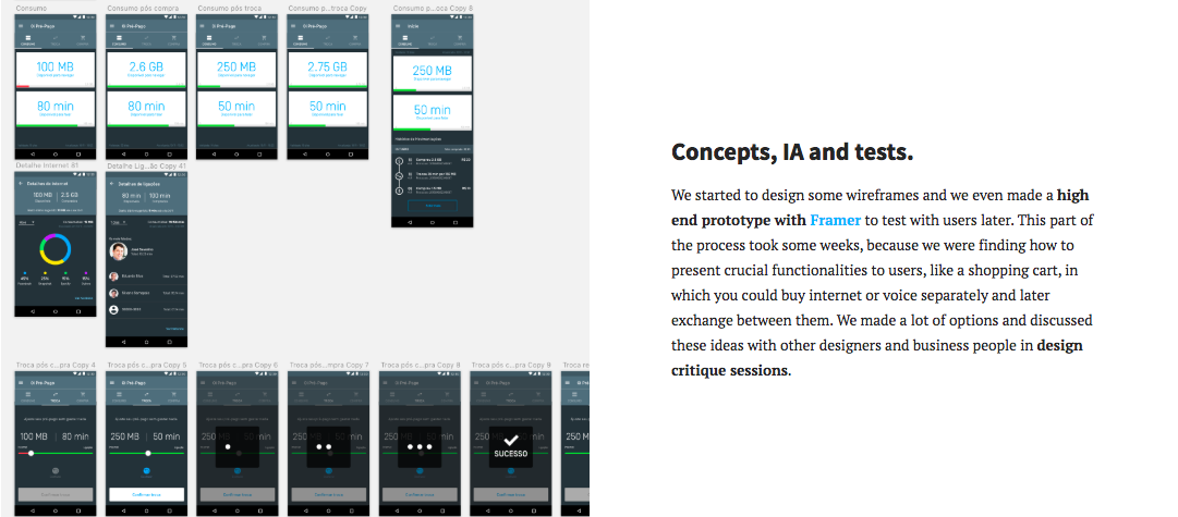Senior UX Designer Portfolio - Project details