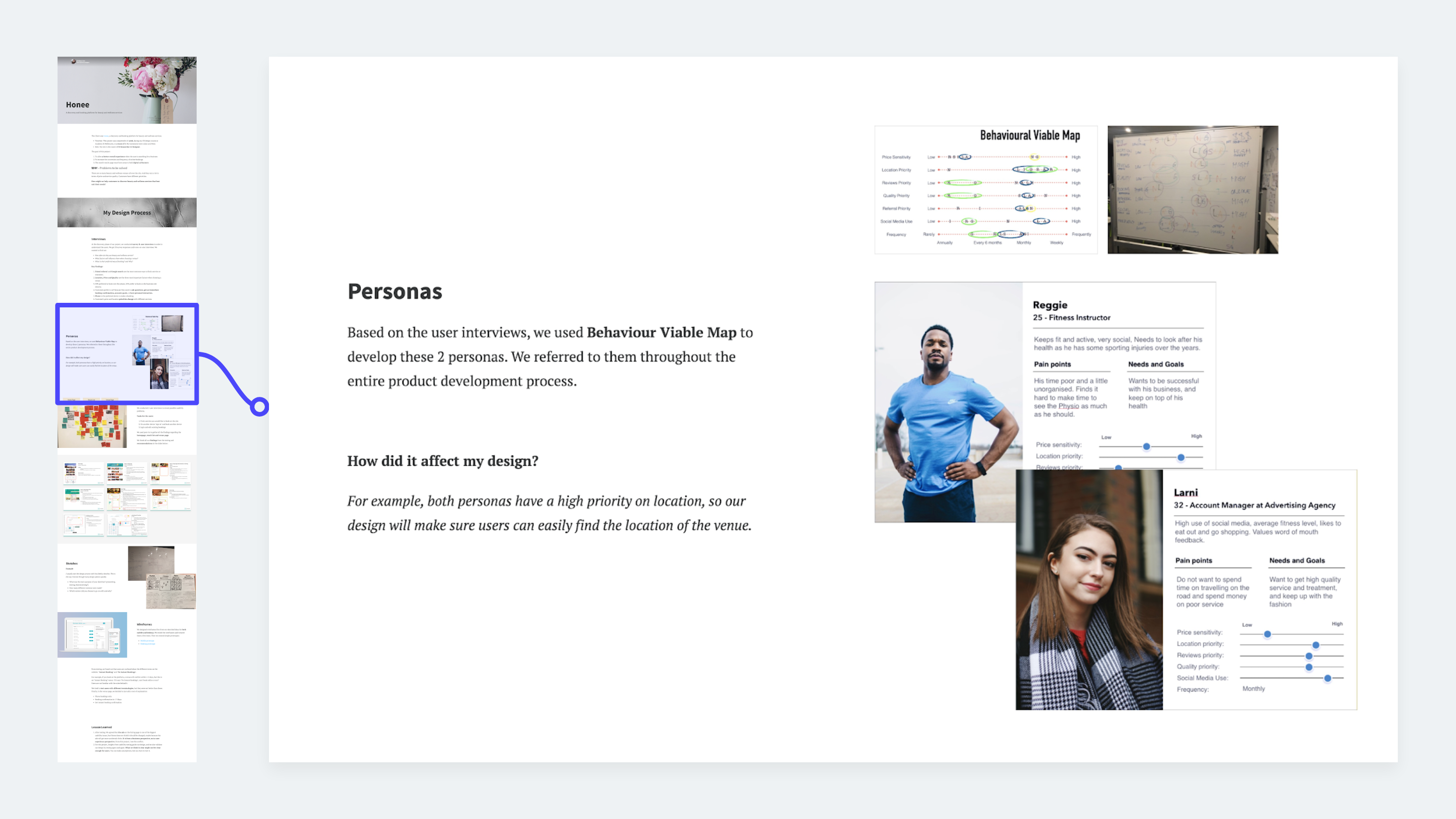 UX methods example: Personas