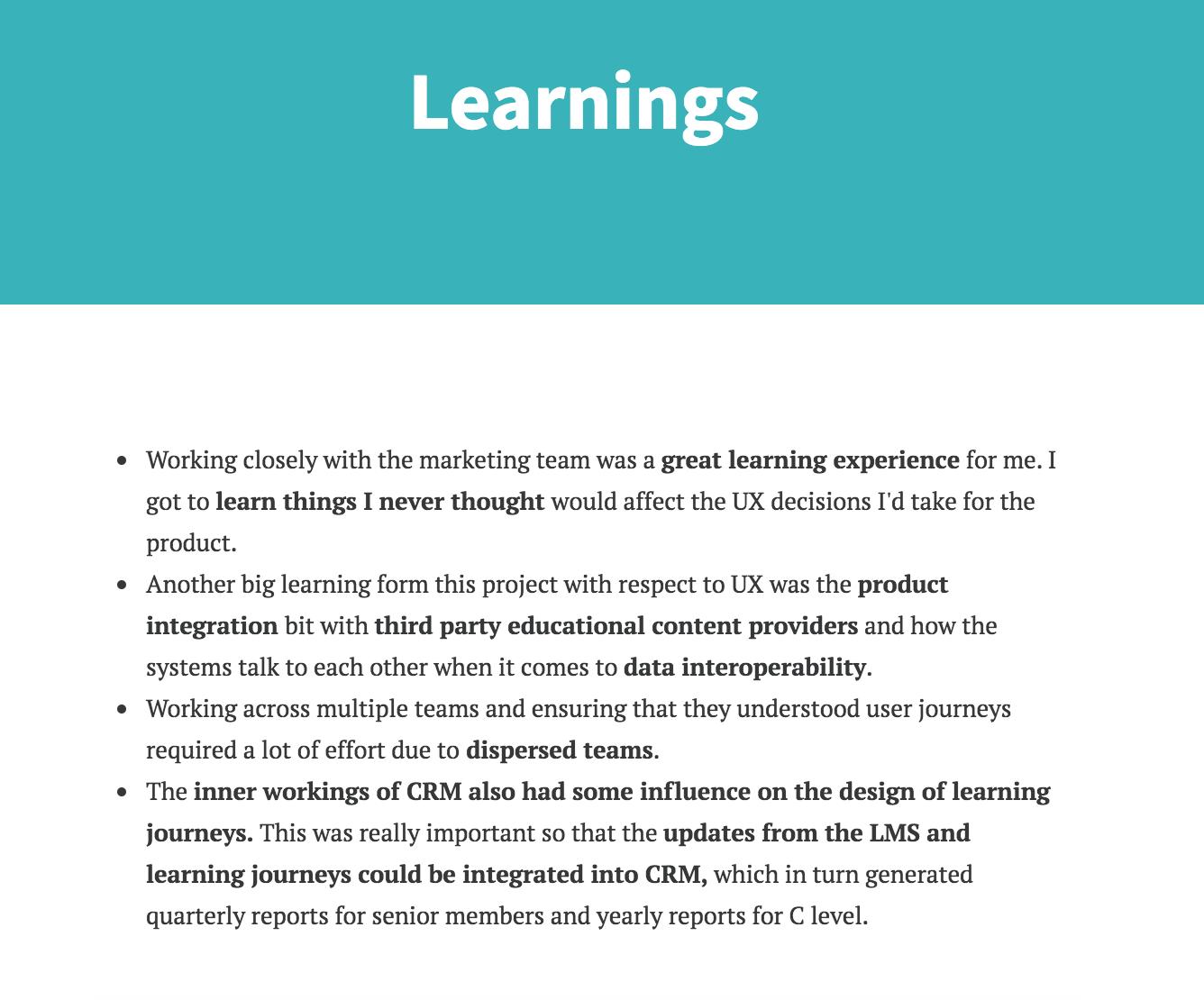 Learning Management System / Siraj Salim