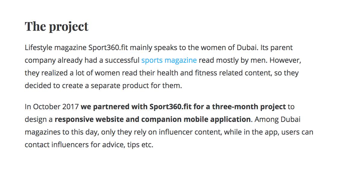Sport360.fit : UX Studio