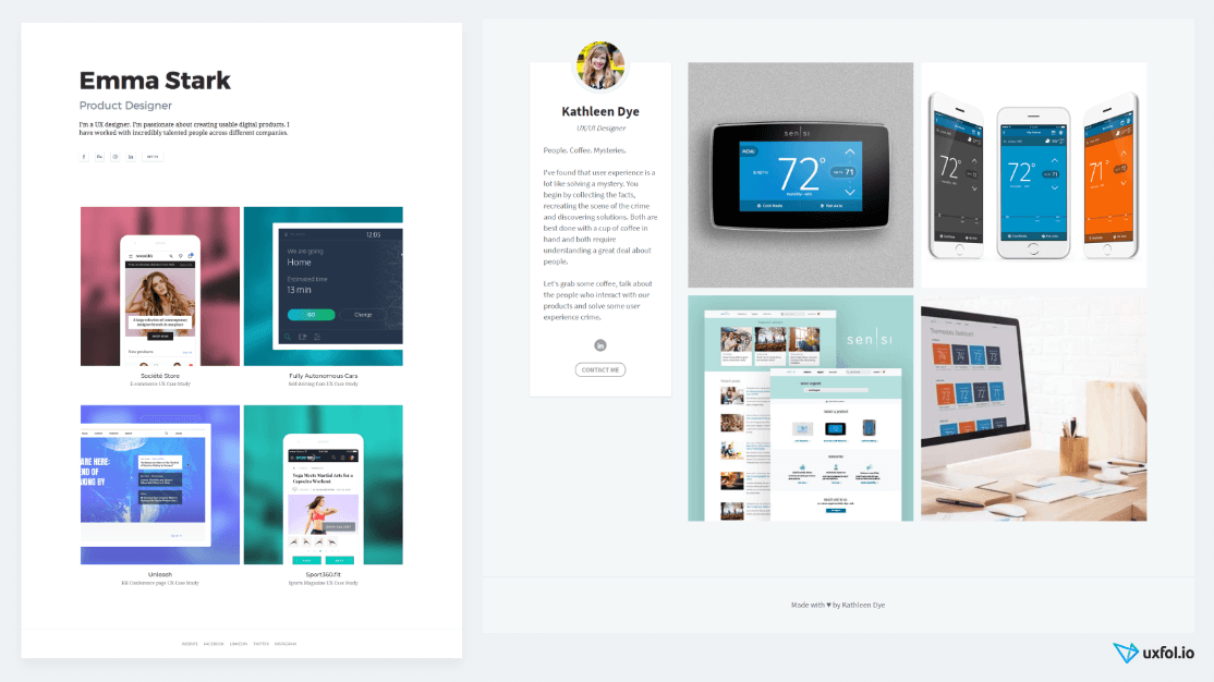 The Ultimate UX Portfolio Template to Get You Hired