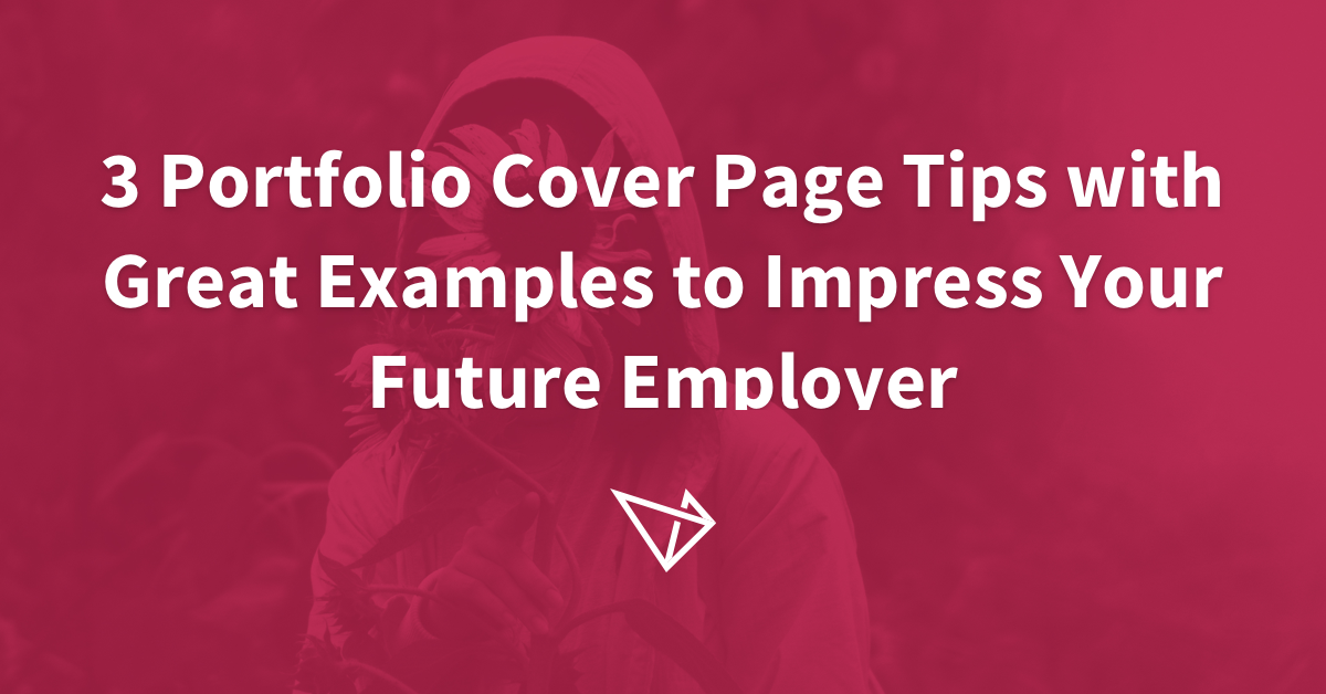 3 Portfolio Cover Page Tips With Examples