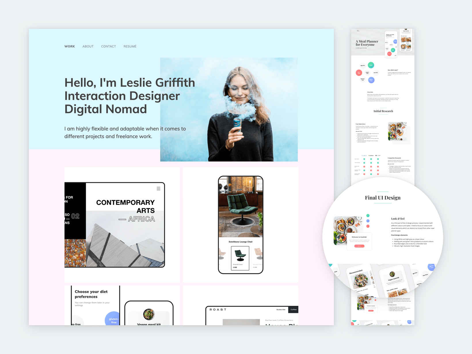20 Impressive UX Portfolio Examples with a Guide for Yours